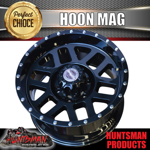 17x9, 0 Offset Hoon Mag Wheel 6/139.7 pcd