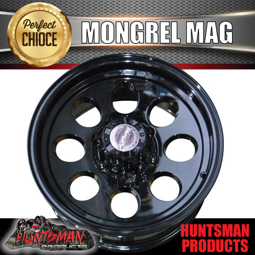 15X8 -22 Mongrel Alloy 6/139.7 pcd Black
