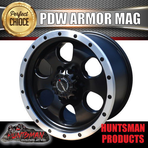 PDW Armor 17X9, 6/139.7, +25 Offset Alloy Mag Wheel