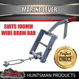 Mechanical Brake Marine Lever suit 100mm Draw Bar