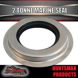 2x 2 Tonne Stainless Trailer Marine Seal suit 30210 Inner Bearing.