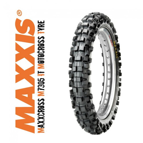 Maxxis MaxxCross- 110/100-18 IT M7305 64M TYRE MOTORCROSS DIRTBIKE TYRE
