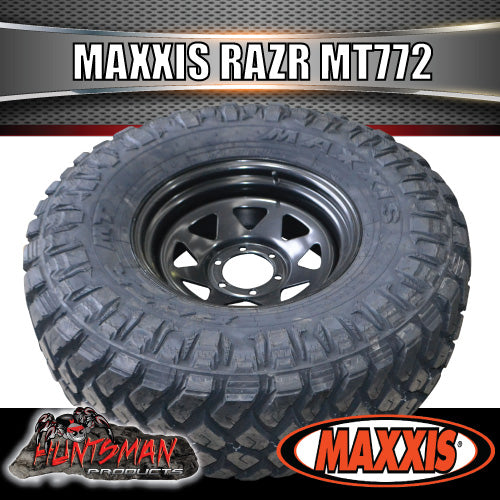 265/65R17 L/T MAXXIS RAZR MT772  MUD TYRE ON 17