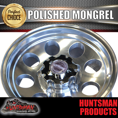 16X8 Mongrel Alloy 5/150 pcd, 0 Offset suit Landcruiser