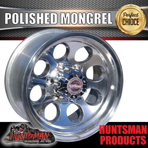 16X8 -22 Mongrel Alloy 6/139.7 pcd