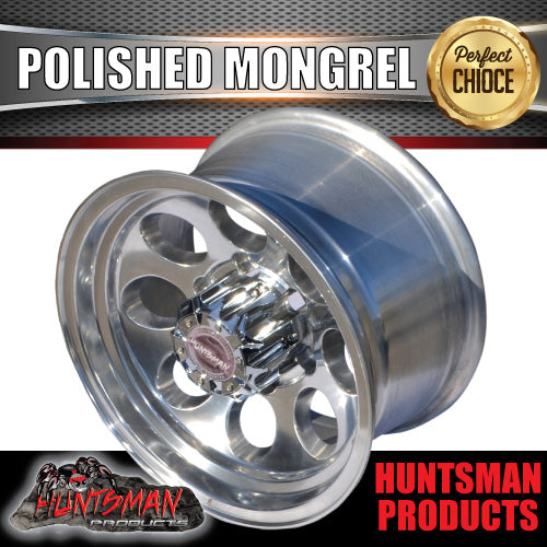 15X8 -22 Mongrel Alloy 6/139.7 pcd