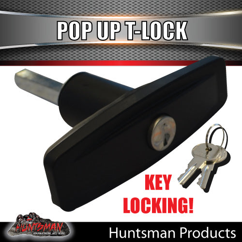 x1 Slim T Handle Pop Up Lock Latch.