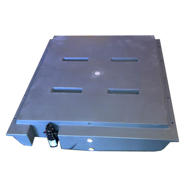 125 LITRE UNDER BODY WATER TANK WITH 12V PUMP