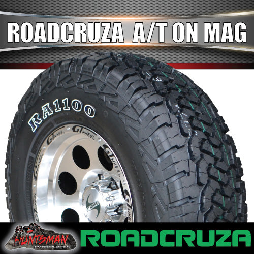 "15"" GT Alloy Mag Wheel & 31X10.5R15 109S Roadcruza A/T Tyre. 31 10.5 15"