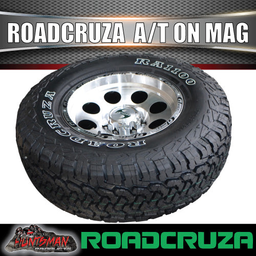 "16"" GT Alloy Mag Wheel & 265/70R16 Roadcruza A/T Tyre 10 PLY"