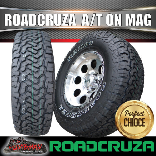 "16"" GT Alloy Mag Wheel & 265/70R16 Roadcruza A/T Tyre 10 PLY. 265 70 16"
