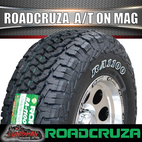 "16"" GT Alloy Mag Wheel & 245/70R16 106T Roadcruza A/T Tyre. 245 70 16"
