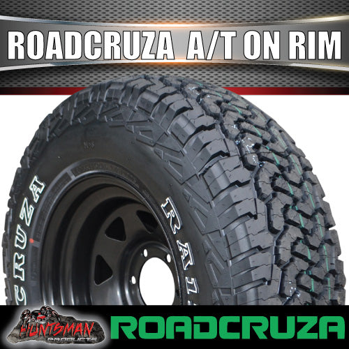 "16"" Black Steel Wheel & Roadcruza 235/70R16 RA1100 104S A/T"
