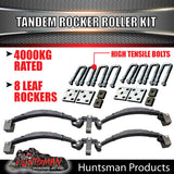 8 Leaf Rocker Roller Spring Set & High Tensile U bolt Kit.