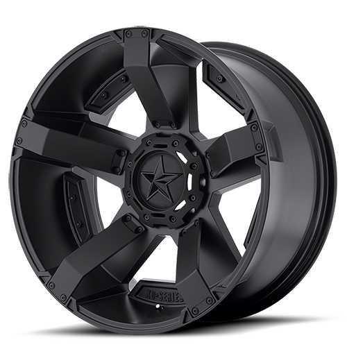 KMC XD ROCKSTAR 2, 22x9.5 Satin Black Alloy Mag Wheel