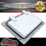 X1 Small white pop up ROOF AIR VENTS