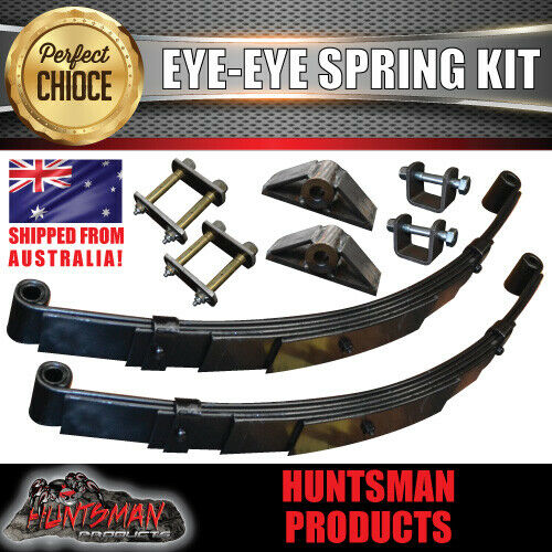 "EYE TO EYE DIY SINGLE AXLE TRAILER KIT. 1000KG RATED.  AXLE LENGTHS 60"" - 79"""