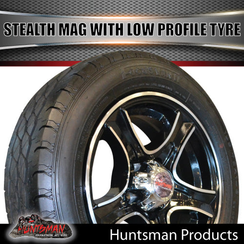 "Low Profile14"" HT Holden Stealth Mag & 175/65R14C LT Tyre. 175 65 14"