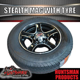 "13"" Stealth Alloy suits Ford & 165R13C. 165  13"