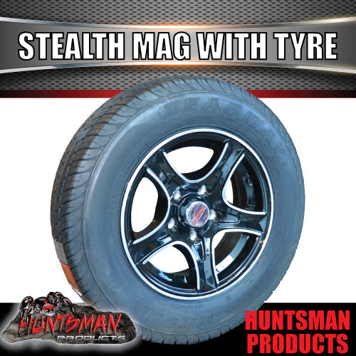 "13"" HT Holden Stealth Alloy & 155R13C tyre"