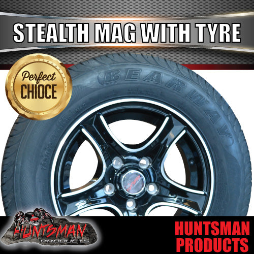 "13"" HT Holden Stealth Alloy & 165R13C. 165 13"