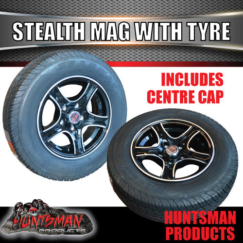 "13"" HT Holden Stealth Alloy & 175R13C. 175 13"