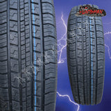 225/60R16 SURETRAC WHITEWALL TYRES. 225 60 16