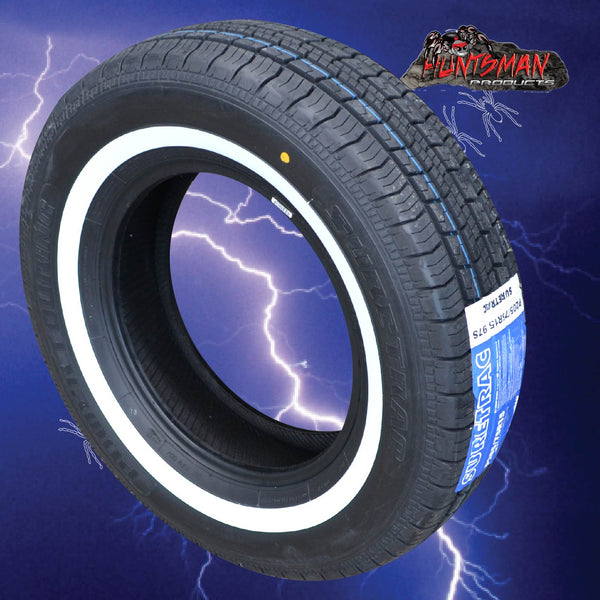 205/75R15 SURETRAC WHITEWALL TYRES
