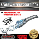 SWING AWAY SPARE WHEEL BRACKET LOCK