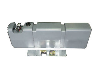 65 LITRE LONG WATER TANK WITH MOUNT KIT AND 12V PUMP