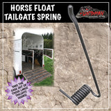 Horse Float Plant Trailer Tail gate Spring. Right
