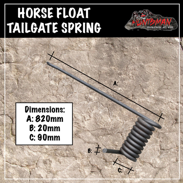 Horse Float Plant Trailer Tail gate Spring. Left