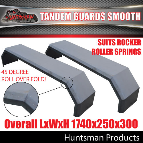 TRAILER GUARDS- TANDEM- SMOOTH- ROCKER ROLLER SPRINGS