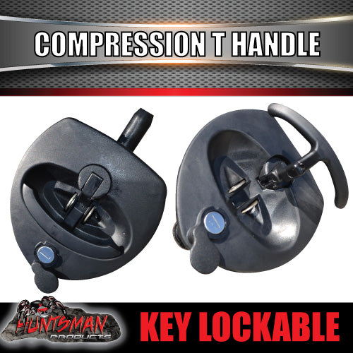 x6 Black Reinforced Fibre Compression T Lock