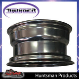 16x8 5 Stud Black Thunder Rim 0 Offset 5/150 PCD suits Landcruiser 79-100 Series