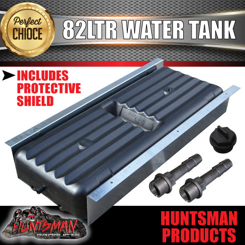 82 LITRE UNDERBODY WATER TANK & PROTECTIVE SHIELD