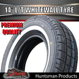 205/75R14C COMFORSER WHITEWALL TYRE.