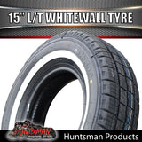 "15"" WHITEWALL 205/75R15C COMFORSER TYRE. 205 75 15"
