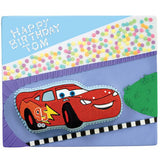 Lightning McQueen from Cars Cake Tin