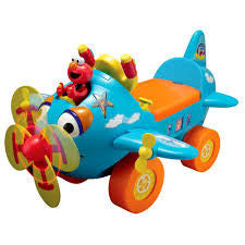 Fly with Elmo Ride-On Plane
