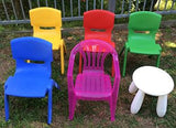 Plastic Chairs - Blue