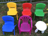 Plastic Chairs - Yellow