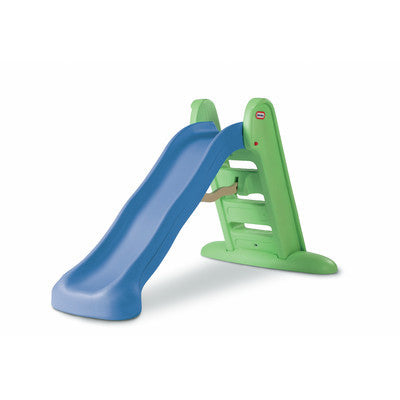 Little Tikes Large Folding Slide - Blue & Green