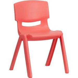 Plastic Chairs - Red