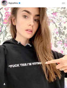 FUCK THIS I'M VOTING HOODIE