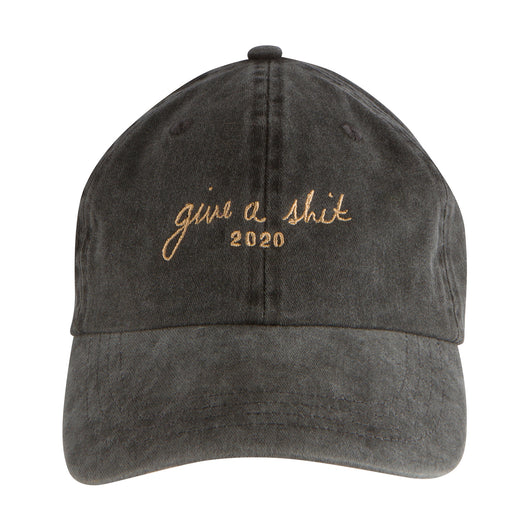 GIVE A SHIT 2020 - DENIM HAT - CURSIVE
