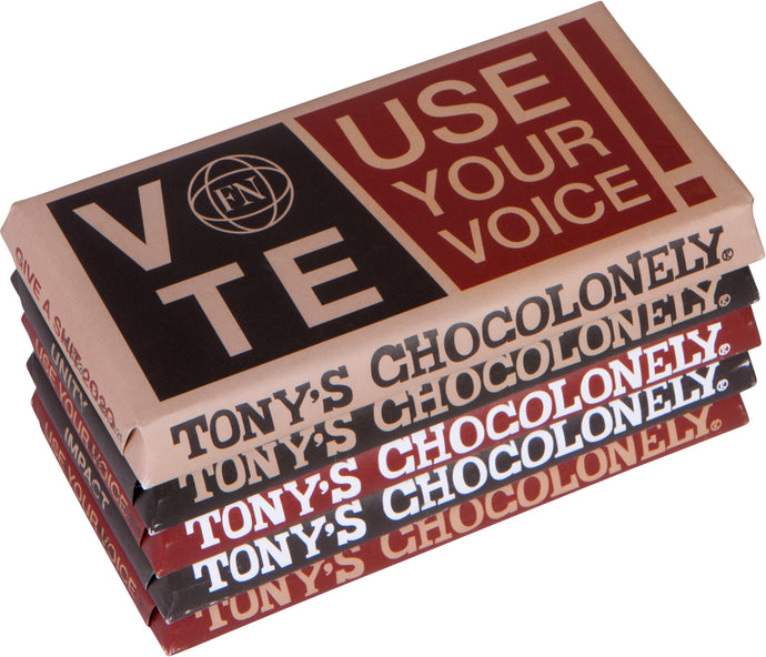 FN x TONY'S CHOCOLATE BAR (5 BARS)