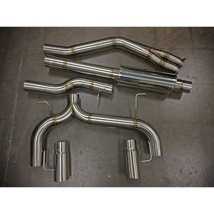 "BMR 3.5"" Cat Back Exhaust For 335i N54 / N55"