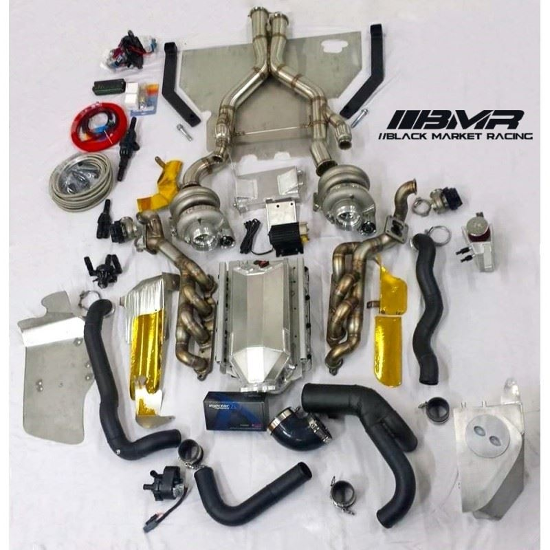 BMR Twin Turbo Kit For 2009-2015 CTS-V