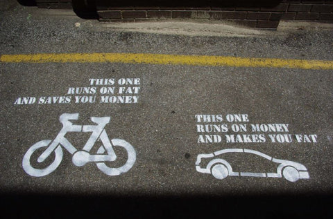 Save money by cycling